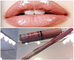 O combo Mechanical Lip Pencil Nutmeg + Butter Gloss Tiramisu é a dica do Beauty Team da NYX do Boulevard Belém para você conseguir o efeito de lábios mais carnudos