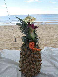 Tropical cocktail on Karon Beach, Phuket, Thailand