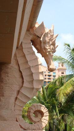 Seahorse art work   Cruise Addicts