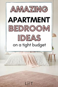 Wow! Super love this cozy apartment bedroom ideas for the minimalist room I'm trying to create. Best apartment bedroom aesthetic ideas so far! The interiors included here are absolutely gorgeous. So excited to shop my new aesthetic bedroom rug for my apartment decorating project. Couples First Apartment, First Apartment Checklist, First Apartment Essentials, Cute Apartment, Apartment Cleaning, Bedroom Apartment, String Lights In The Bedroom, Apartment Decorating On A Budget, Pretty Bedroom