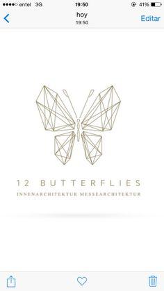 Minimal geometric butterfly