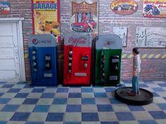 Coca Cola Soda Dispeenser for 1:64