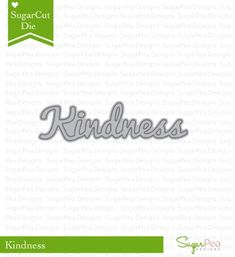 RESERVE SugarPea Designs KINDNESS WORD SugarCuts Dies SPD00176 Preview Image