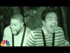 Jimmy and Kevin Hart Visit a Haunted House - YouTube