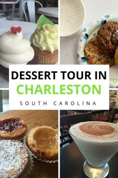 The Ultimate Self-Guided Charleston Dessert Tour | Charleston South Carolina | Charleston | Dessert Tour | Charleston Food Tour | South Carolina #SouthCarolina #Charleston #ExploreCharleston #dessert