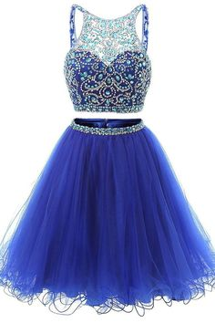 Two Pieces Homecoming Dresses Homecoming Dresses Backless Prom Dresses Short Blue Homecoming Dresses Cute Prom Dresses Prom Dresses 2019 Two Piece Homecoming Dress, Blue Homecoming Dresses, Prom Dresses Two Piece, Backless Prom Dresses, Prom Dresses Blue, Sexy Dresses, Dress Prom, Cotillion Dresses, Wedding Dresses