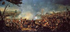 """Battle of Waterloo 1815 by William Sadler II Quote attributed to Napoleon Bonaparte. """" History is a version of past events that people have decided to agree upon"""" Waterloo 1815, Battle Of Waterloo, Waterloo Belgium, European History, World History, American History, History Online, Canadian History, Schlacht Von Waterloo"""