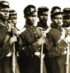 Great NC History Blog Image of the U.S. Colored Troops from Wilmington, NC