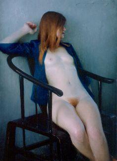 Art Jeremy Lipking seated Nude