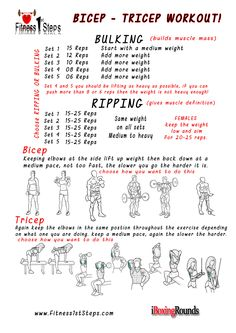 Bicep Workouts » Health And Fitness Training