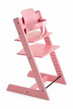 Stokke - Tripp Trapp in Pink. Great highchair!