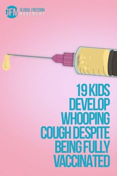 "19 kids all suddenly ""contract"" whooping cough in Summit County. What do they all have in common? They are all up to date on their vaccinations. Unvaccinated kids are not mentioned in the recently resurrected 2015 news report – why? Is it because they weren't getting whooping cough while their heavily vaccinated peers were? 