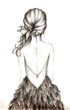 Chica de espaldas.