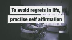 cool Comment éviter les regrets du lit de mort avec cette pratique quotidienne