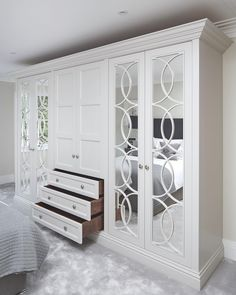 Whether you re after a sleek design or intricate mirrored detailing discover The. Whether you re after a sleek design or intricate mirrored detailing discover The Heritage Wardrobe Wardrobe Design Bedroom, Bedroom Bed Design, Bedroom Wardrobe, Bedroom Decor, Bedroom Ideas, Master Bedroom, Fitted Bedroom Furniture, Fitted Bedrooms, Balkon Design