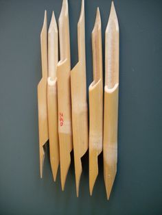 Japanese Bamboo Dip Pens.    Anyone have bamboo in their yard? Because I really want to try my hand making these.