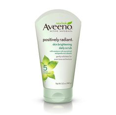 Aveeno Positively Radiant Skin Brightening Daily Scrub I've been using this oil-free face wash ever since I can remember. It sloughs away dead skin in between Clarisonic days. Make Up Looks, Skin Care Regimen, Skin Care Tips, Aveeno Active Naturals, Sensitive Skin Care, Facial Treatment, Radiant Skin, Combination Skin, Skin Care