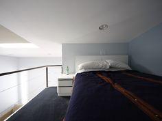 Open sleeping loft