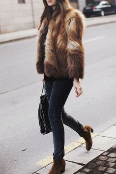 The Prettiest Faux Fur via This Is Glamorous