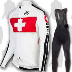 Ropa winter thermal fleece Assos 2016 ciclismo long sleeve cycling jersey bike riding wear cycling clothing set/gel pad Invierno