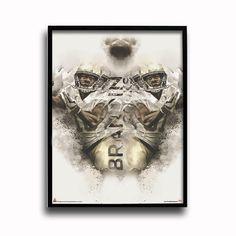 New Orleans Saints Brandin Cooks Rising Star 24x18 Football Poster