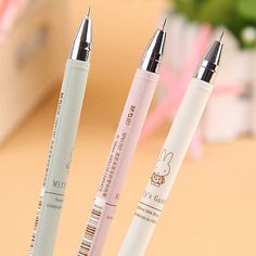 New 4X CUTE Cartoon Stationary Writing School Office Rollerball Pen 0.38mm
