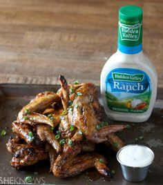 Spicy apple cider bourbon grilled wings pack a flavorful punch
