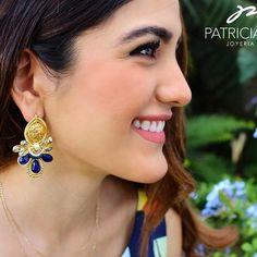 PG Aretes con cristal #pg #joyeriaartesanal #earrings #artesanos #madeinmexico #chapadeoro #handmadejewelry #artemwexicano #mexicocreativo #ideartemexico