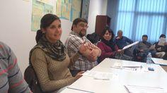 Miembros de FSI durante la sesión presencial del curso Teleformación para formadores