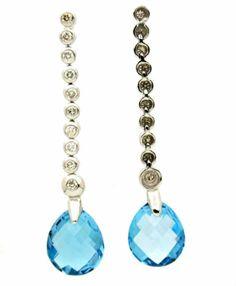 Blue Topaz Earring