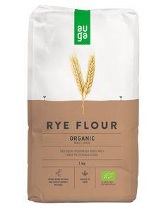 Whole grain rye flour | AUGA.LT