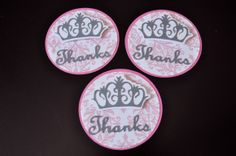 Royal crown favor tags