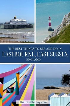 A guide to exploring Eastbourne, East Sussex. What to see and do in Eastbourne on England's south coast, where to stay, coastal walks, fortresses, piers and bandstands #Eastbourne #EastSussex #travelguide Beautiful Places To Travel, Best Places To Travel, Cool Places To Visit, Devon England, Oxford England, Cornwall England, Yorkshire England, Yorkshire Dales, London England