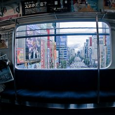 "ileftmyheartintokyo: "" Subway Window View by vargryd on Flickr. """