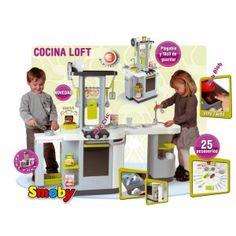 Cocina infantil smoby loft electronica en http://www.tuverano.com/cocinitas-de-juguete/162-cocinita-smoby-loft-electronica.html