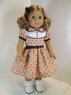Back to School Dress for American Girl Maryellen with