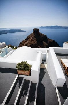 Skaros Rock, Imerovigli, Santorini- Our hotel we stood at on our honeymoon overlooked this rock! It was so beautiful.