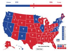 Donald Trump has won the presidency after narrowly carrying a few states to put him above 270 electoral votes.But according to the latest numbers, Hillary Clinton won the popular vote. The game is rigged.In other words, we have a similar situation as in 2000—where the candidate who more voters picked did not become president. It is unfair, undemocratic & we must eliminate the Electoral College.Eliminating the Electoral College does not even require a constitutional amendment. An effort k...