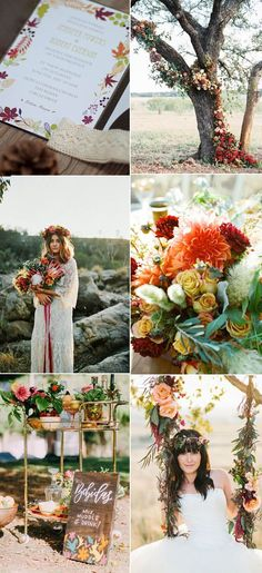 Ten Beautiful Fall Wedding Invitations To Match Your Wedding Colors