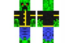 minecraft skin The-pro-Creeper