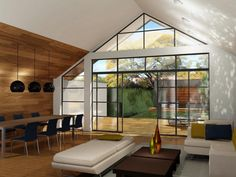 steel frame bi fold doors - Google Search