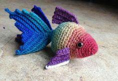 Fish cat toy