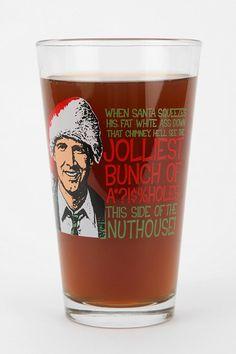 National Lampoon's Christmas Vacation Pint Glass @Heather Whitney @Melissa Mannino