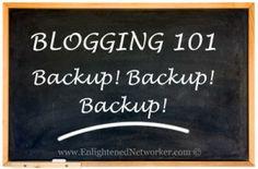 Backup Your WordPress Blog – Protect Your Blog from Brute Force Attacks #blogs #blogging #brute_force_attacks #wordpress #enlightenednetworker