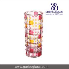 glass vase/glass flower vase/ decorative glass vase/ art glass vase/ China glassware supplier / China glassware manufacturer  / China glassware factory