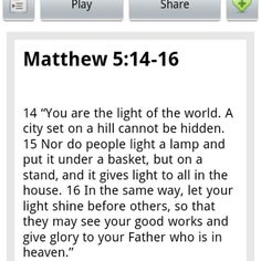 Your #instadaily #bible verse from the book of #matthew.