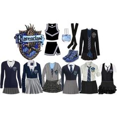 Mischa's RavenClaw Uniforms by expiredsunshine on Polyvore featuring Hansel from Basel, Palazzo Bruciato, Hello Kitty and F - COSPLAY IS BAEEE!!! Tap the pin now to grab yourself some BAE Cosplay leggings and shirts! From super hero fitness leggings, super hero fitness shirts, and so much more that wil make you say YASSS!!!