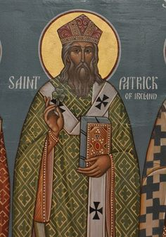 The Lorica- A Prayer of Saint Patrick, the Enlightener of the Irish. The Saint, Erin Go Braugh, Paint Icon, Christian Religions, Orthodox Icons, Lutheran, St Patrick, Monastery Icons, Celtic Christianity