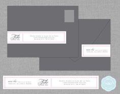 address label wrap printable envelopes pinterest envelopes