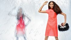 fendi spring 2014 campaign9 Nadja Bender + Joan Smalls Star in Fendi Spring 2014 Ads